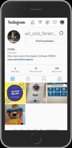 FEONA auf Instagram
